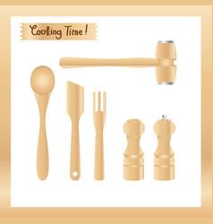 Kitchen utensils 002 vector