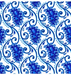 Paisley Porcelain vector image vector image