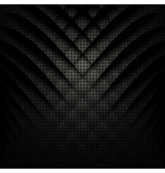 Abstract geometric background Black and white vector image
