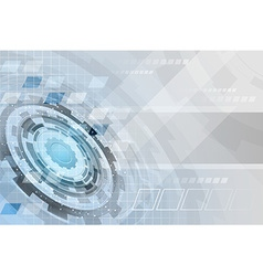 Abstract technology futuristic business background vector