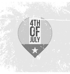 Independence Day 4th of July festive Banner vector
