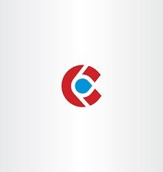 Letter c logotype c logo sign icon element design vector