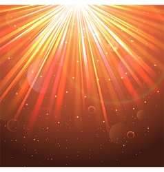 Orange Lights background vector image