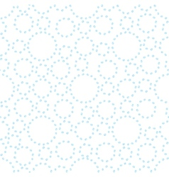 Watercolor abstract seamless background with dots vector