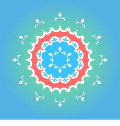 Yakutian Style Ornament vector image