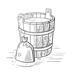 alcohol distillation process vector image