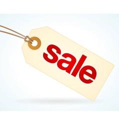 Sale Paper Label vector image