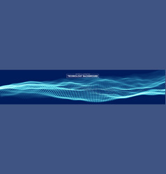 abstract technology background cyber technology vector image