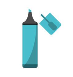 Marker school utensil image vector