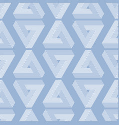 seamless geometric imagination pattern vector image