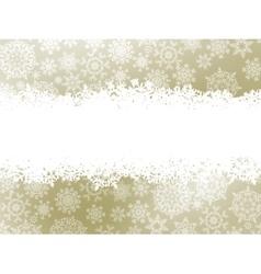 Snowflake christmas elegant background EPS 8 vector image