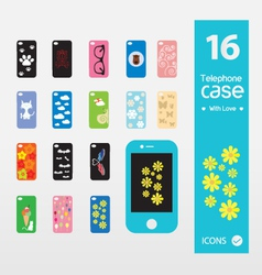 telephone case vector image