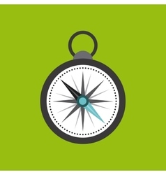 compass device guide isolated icon vector image