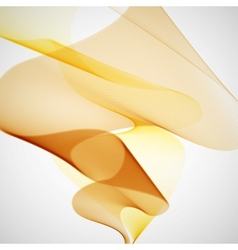 Yellow Abstract Background vector image vector image