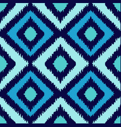ethnic squared seamless pattern vector image