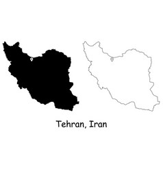 1086 tehran iran vector