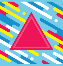 abstract geometric background for music dj cd vector image