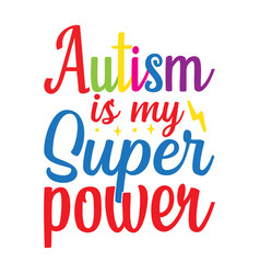 Autism awareness file vector