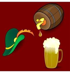 Beer Barrel Hat vector