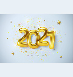 christmas and happy new year 2021 vector image