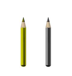 cosmetic eye crayon - mock up template isolated on vector image