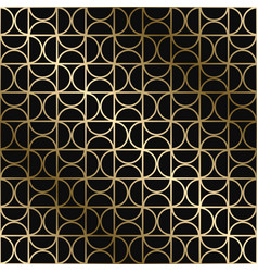 geometric stylish art deco pattern vector image
