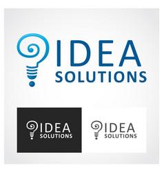 idea symbol vector image