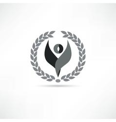men icon vector image