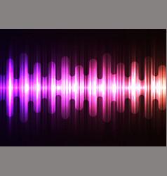 purple orange melt wave speed overlap abstract bac vector image