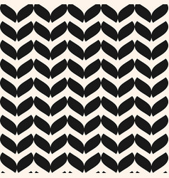 Seamless pattern in scandinavian simple style vector