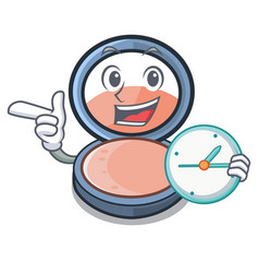 With clock blosh on in the shape character vector