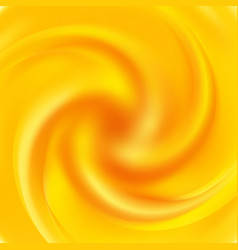 Yellow swirl background abstract orange swirl vector