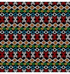 Ethnic carpet background vector image