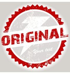 grunge stamp vector image vector image