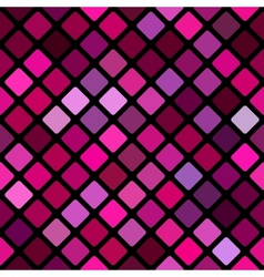 Abstract rhomb background vector image vector image