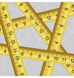 measuring tape texture vector image vector image