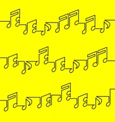 musical notation vector image