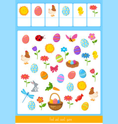 Easter count and find vector