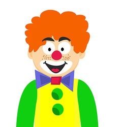 Happy Clown vector image
