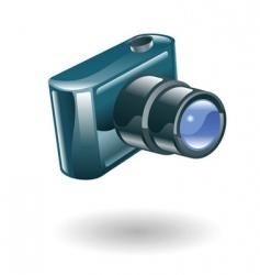 camera illustration vector image