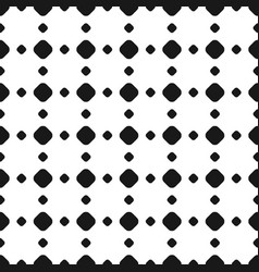 Polka dot seamless pattern rhombus vector
