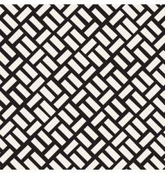 Seamless Black And White Diagonal vector image