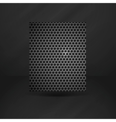 Black Geometric Banner vector image