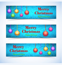 festive celebrating horizontal banners vector image