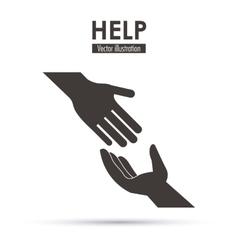 Help icon design vector
