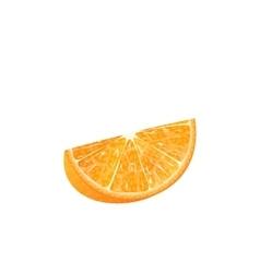 Orange Slice Isolated vector