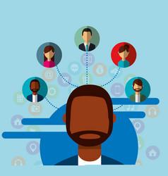 People social media vector
