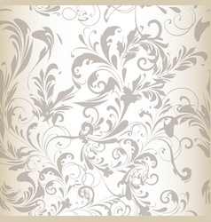 Seamless pattern or background with swirls vector