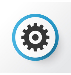 Setting icon symbol premium quality isolated gear vector