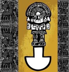Tumi inca iconography vector